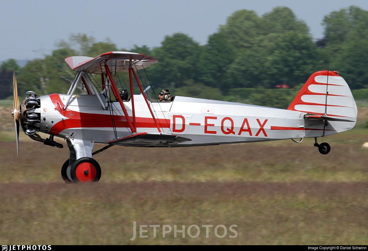 D-EQAX - Focke-Wulf Fw44 Stieglitz - Private