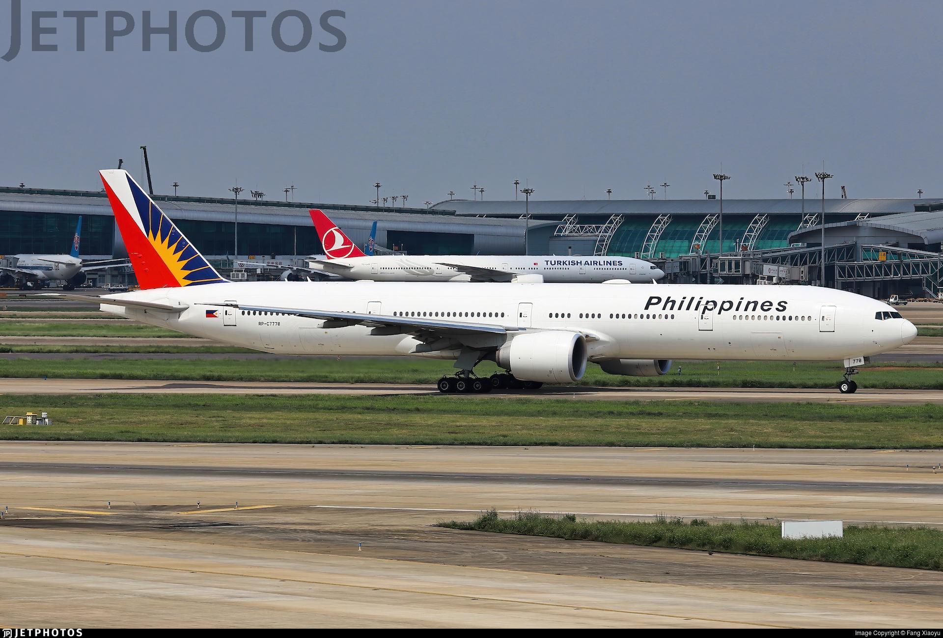RP-C7778 - Boeing 777-3F6ER - Philippine Airlines