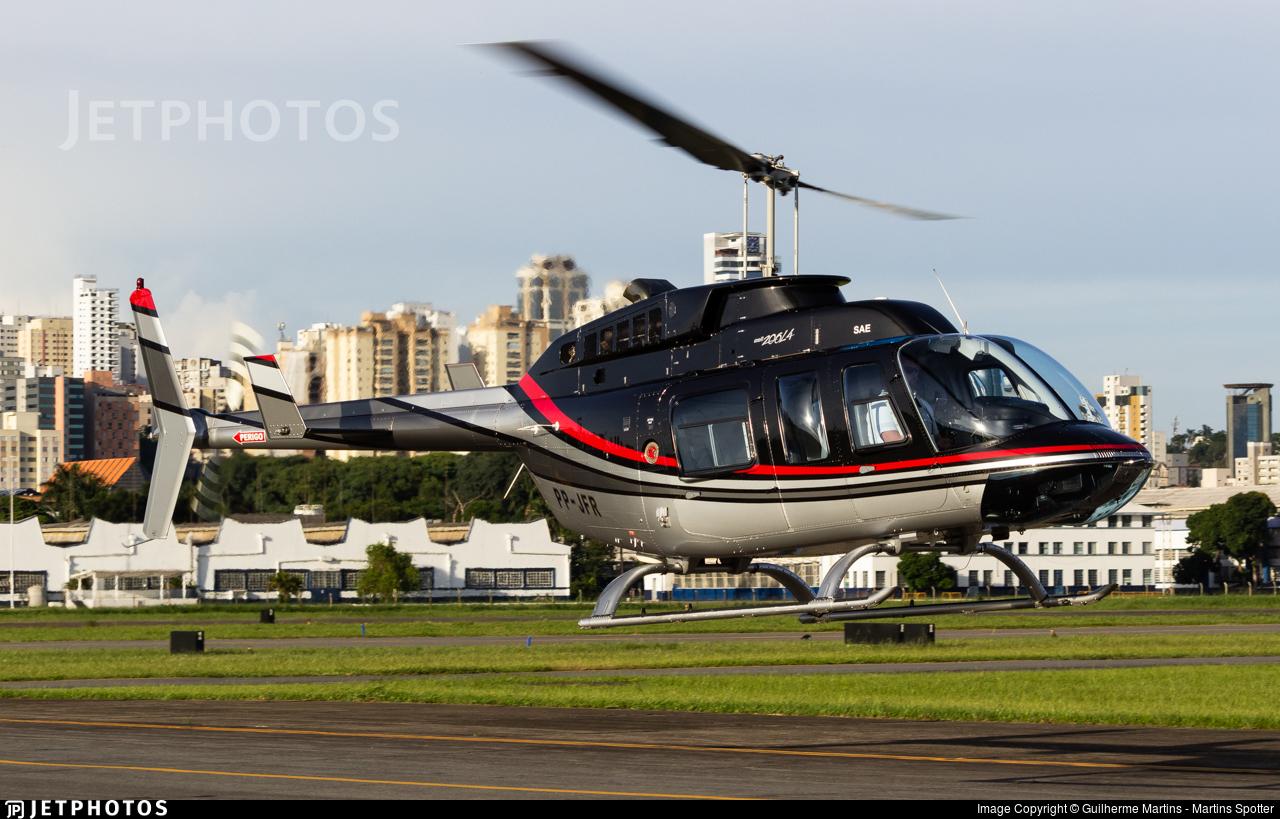 PP-JFR - Bell 206L-4 LongRanger - Cop Serviços Aéreos Especializados