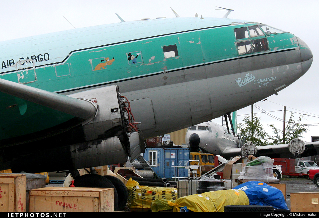 C-GTPO - Curtiss C-46F Commando - Buffalo Airways
