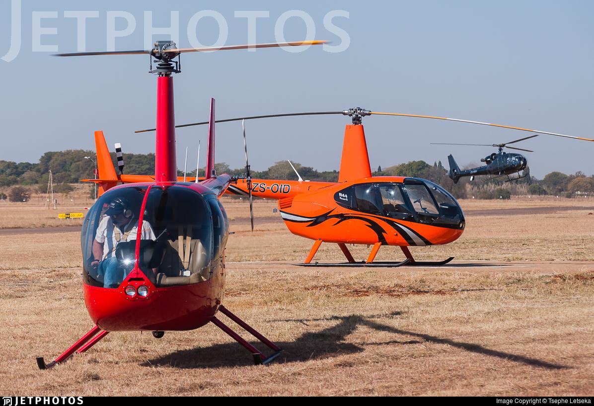ZS-HXX - Robinson R44 Raven II - Private