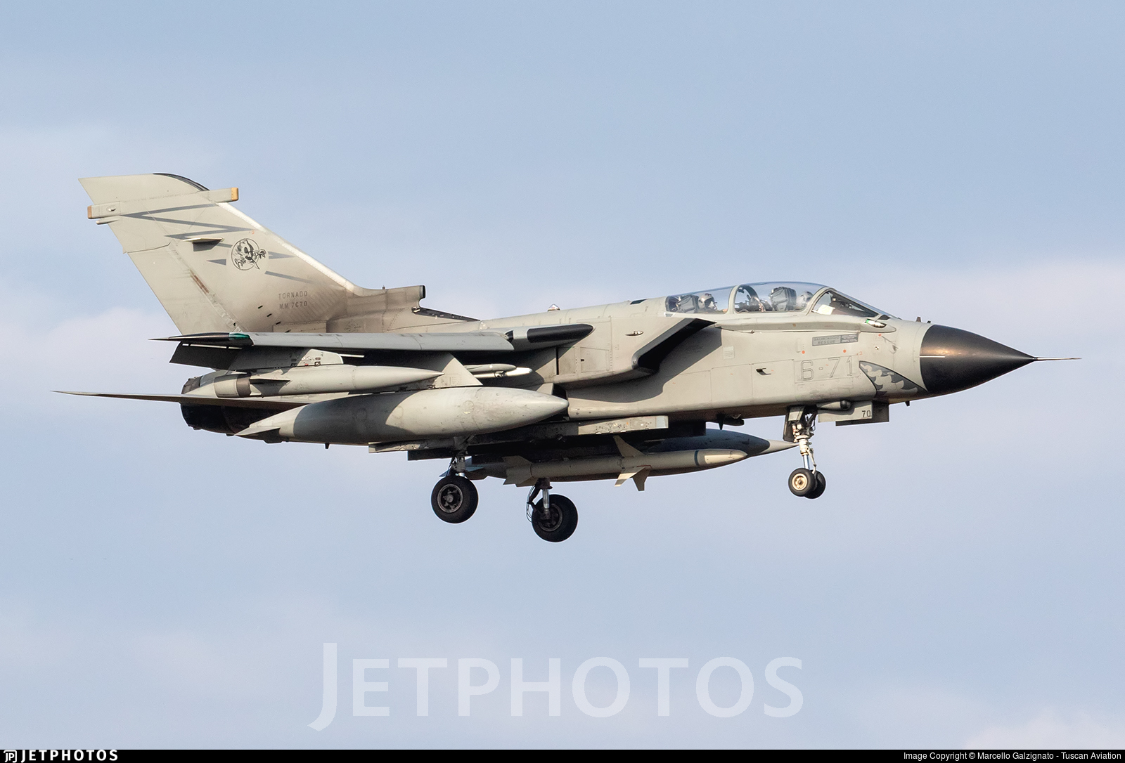 MM7070 - Panavia Tornado ECR - Italy - Air Force