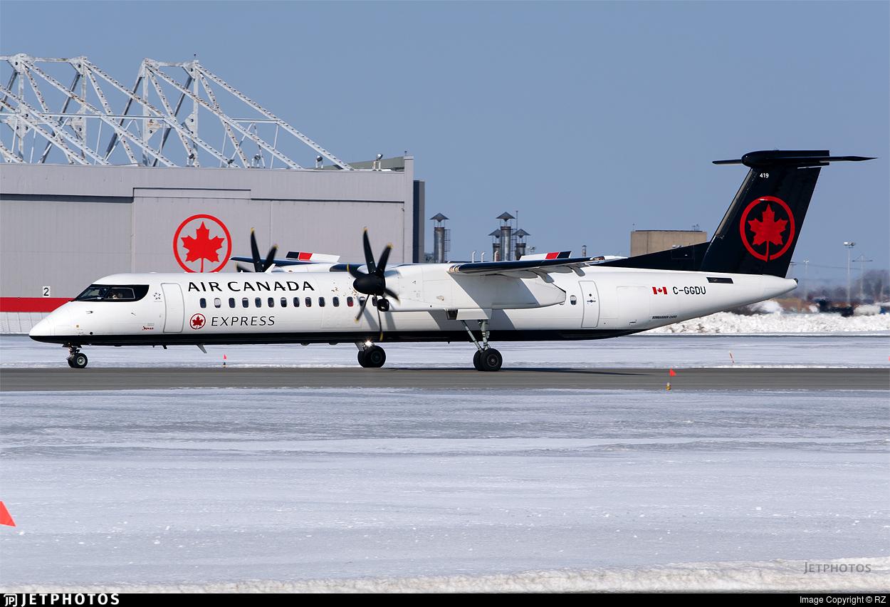 C-GGDU - Bombardier Dash 8-Q402 - Air Canada Express (Jazz Aviation)