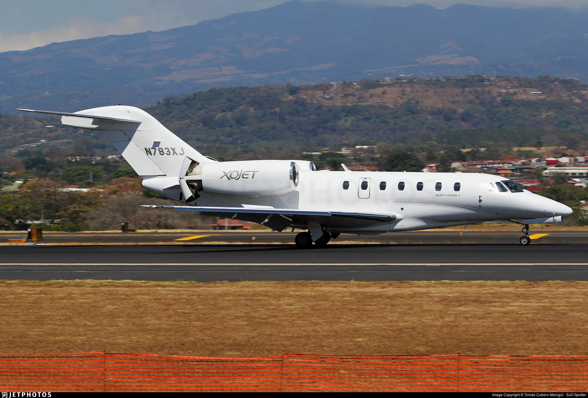 N783XJ - Cessna 750 Citation X - XOJet