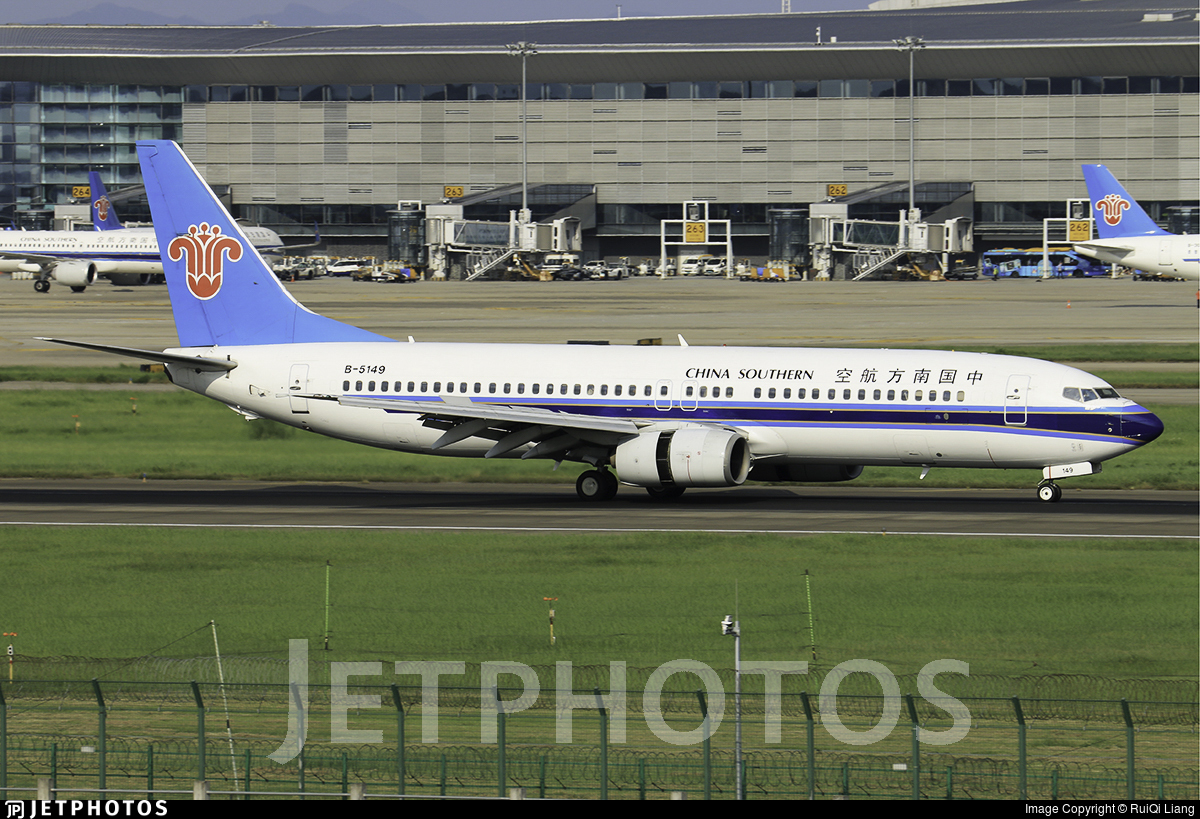 B-5149 - Boeing 737-81B - China Southern Airlines
