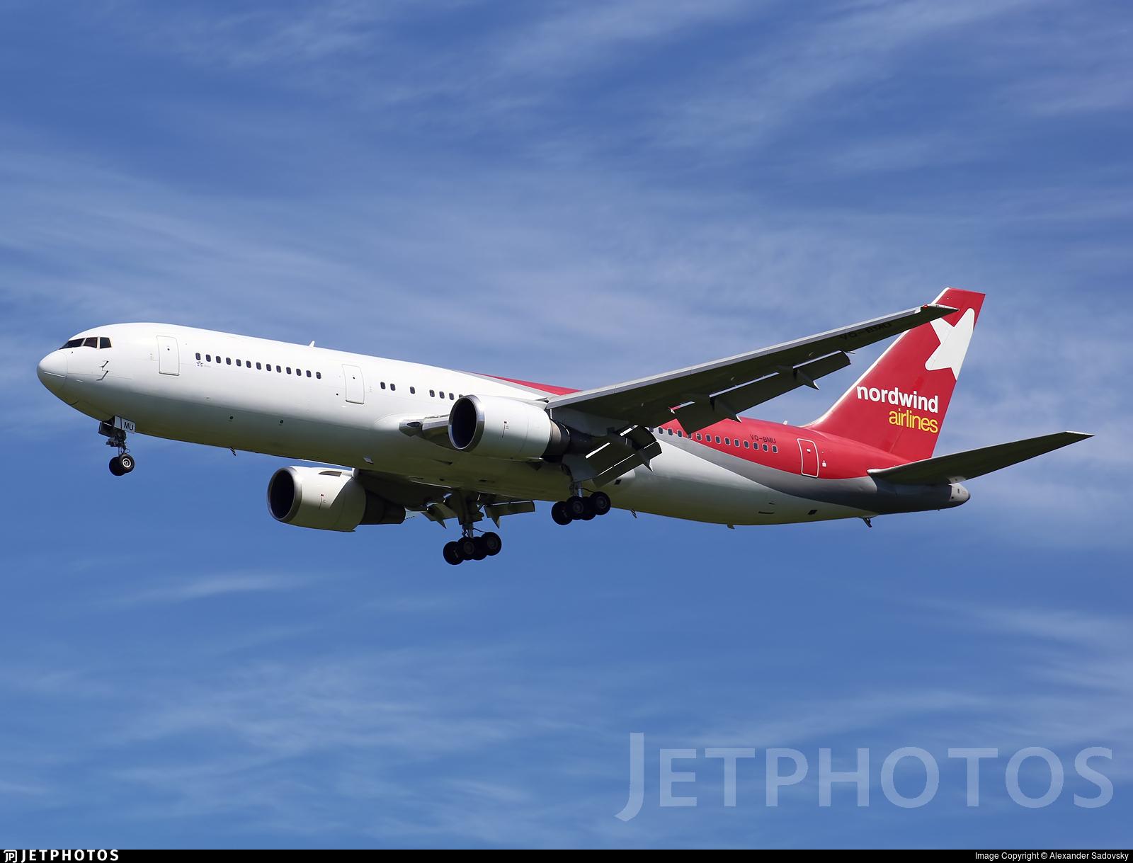 VQ-BMU - Boeing 767-328(ER) - Nordwind Airlines