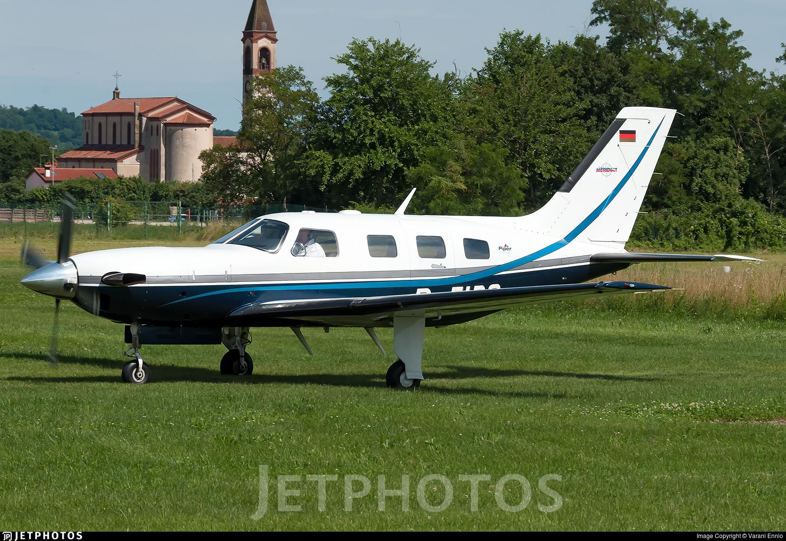 D-FIPO - Piper PA-46-500TP Malibu Meridian - Private