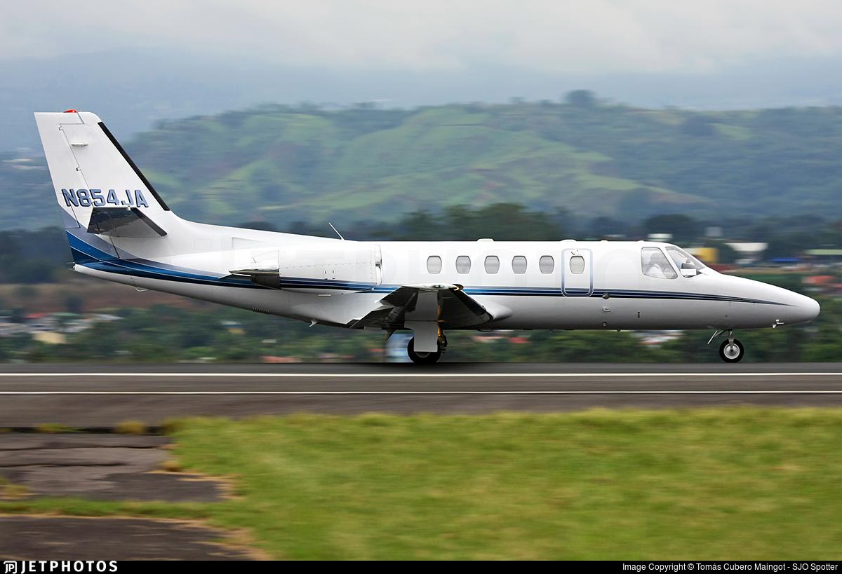 N854JA - Cessna 550 Citation II - Private