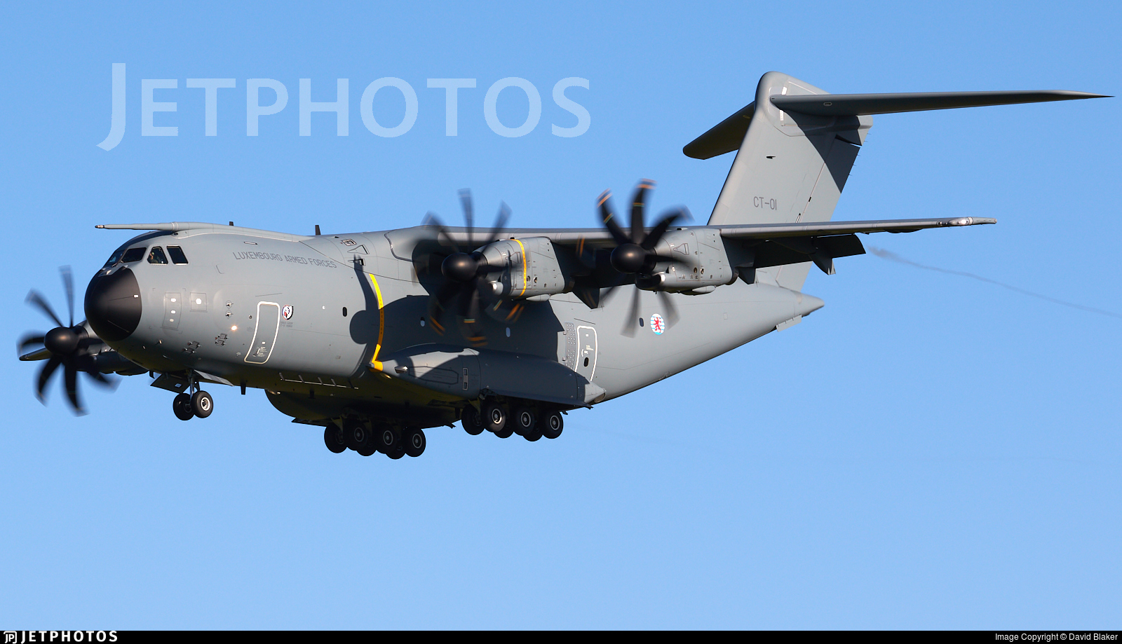 CT-01 - Airbus A400M - Luxembourg - Army