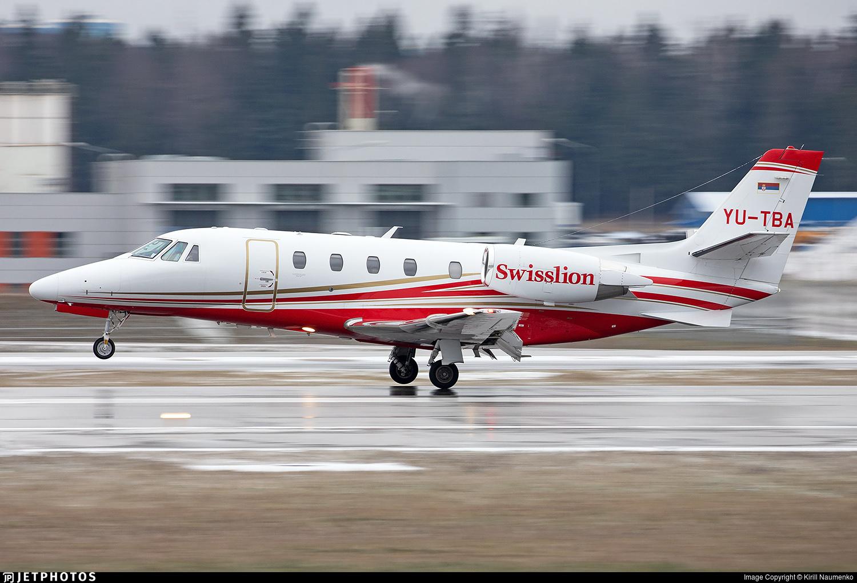 YU-TBA - Cessna 560XL Citation XLS+ - Private