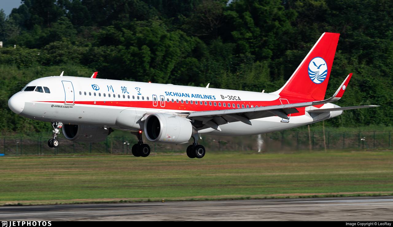 B-30CA - Airbus A320-271N - Sichuan Airlines