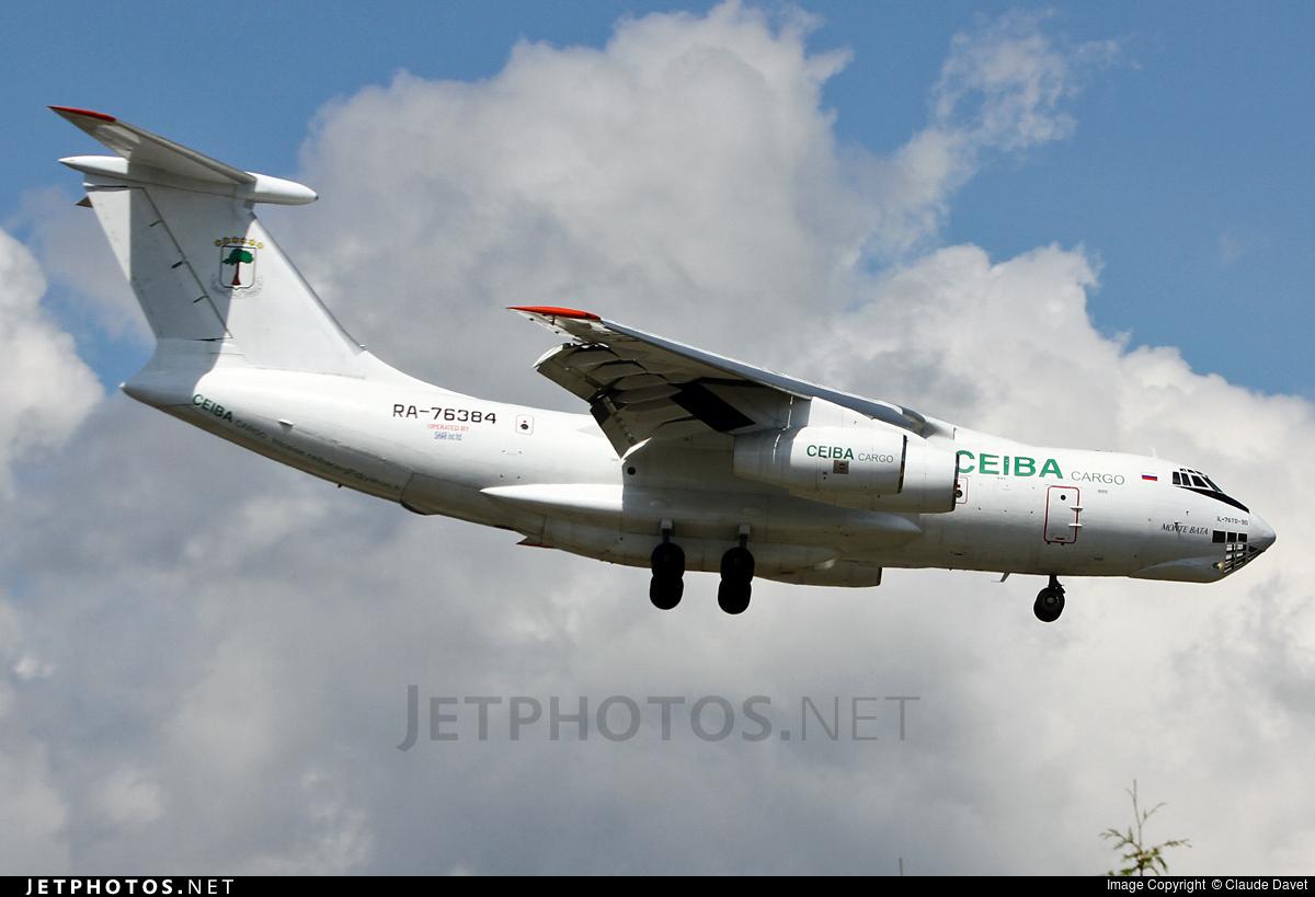 RA-76384 - Ilyushin IL-76TD-90 - Ceiba Cargo