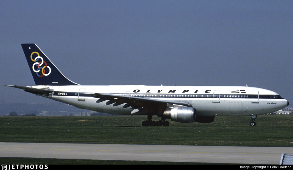 SX-BEE - Airbus A300B4-103 - Olympic Airways