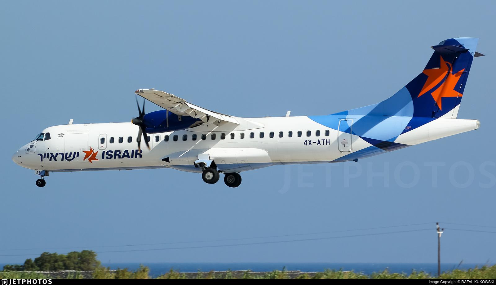 4X-ATH - ATR 72-212A(500) - Israir