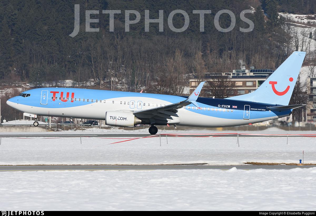 G-FDZW - Boeing 737-8K5 - TUI