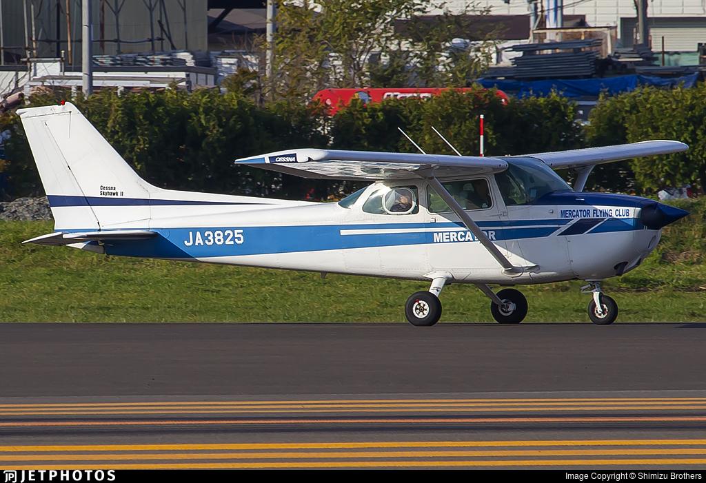 JA3825 - Cessna 172N Skyhawk II - Mercator Flying Club