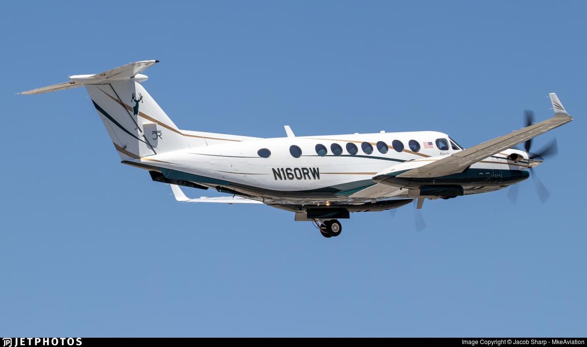 N160RW - Beechcraft B300 King Air - Private