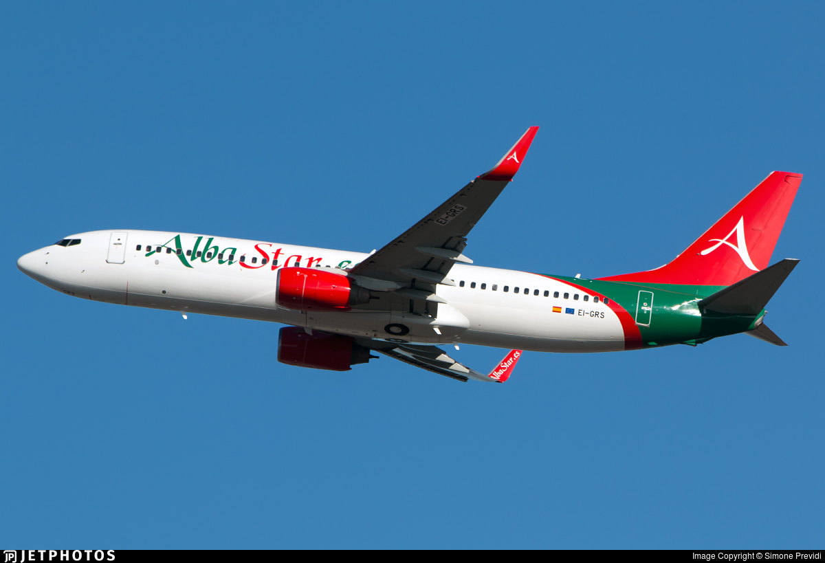 EI-GRS - Boeing 737-81M - AlbaStar