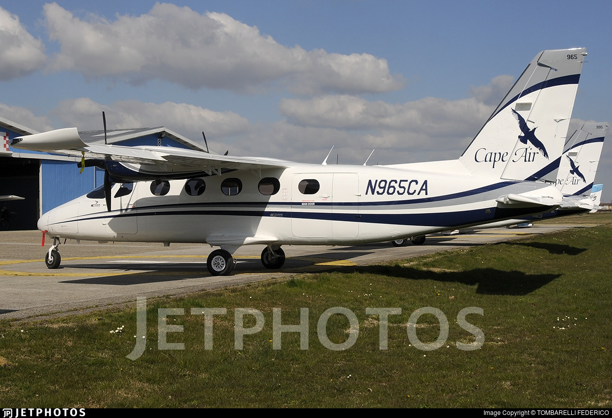 N965CA - Tecnam P2012 Traveller - Cape Air
