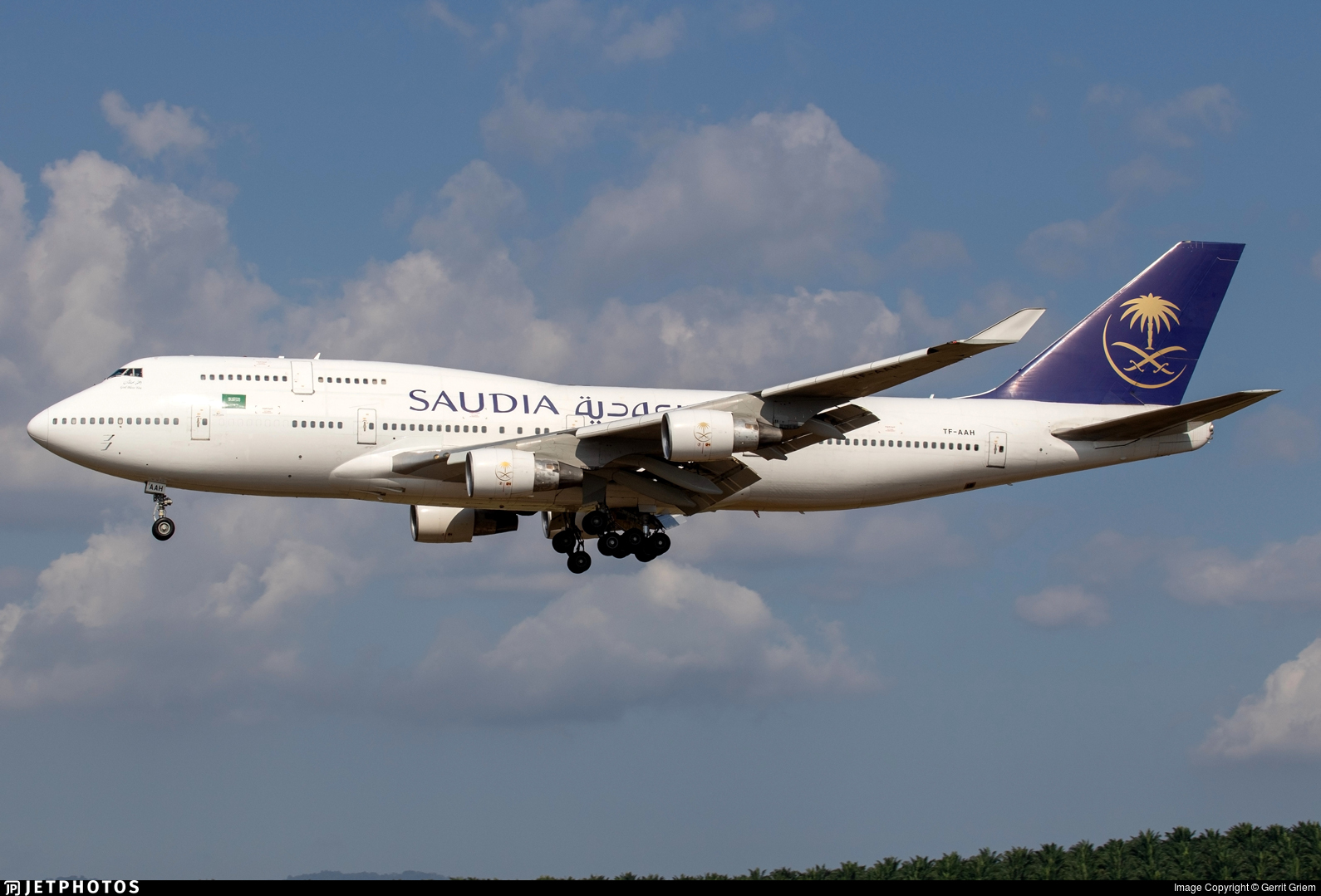 TF-AAH - Boeing 747-4H6 - Saudi Arabian Airlines (Air Atlanta Icelandic)