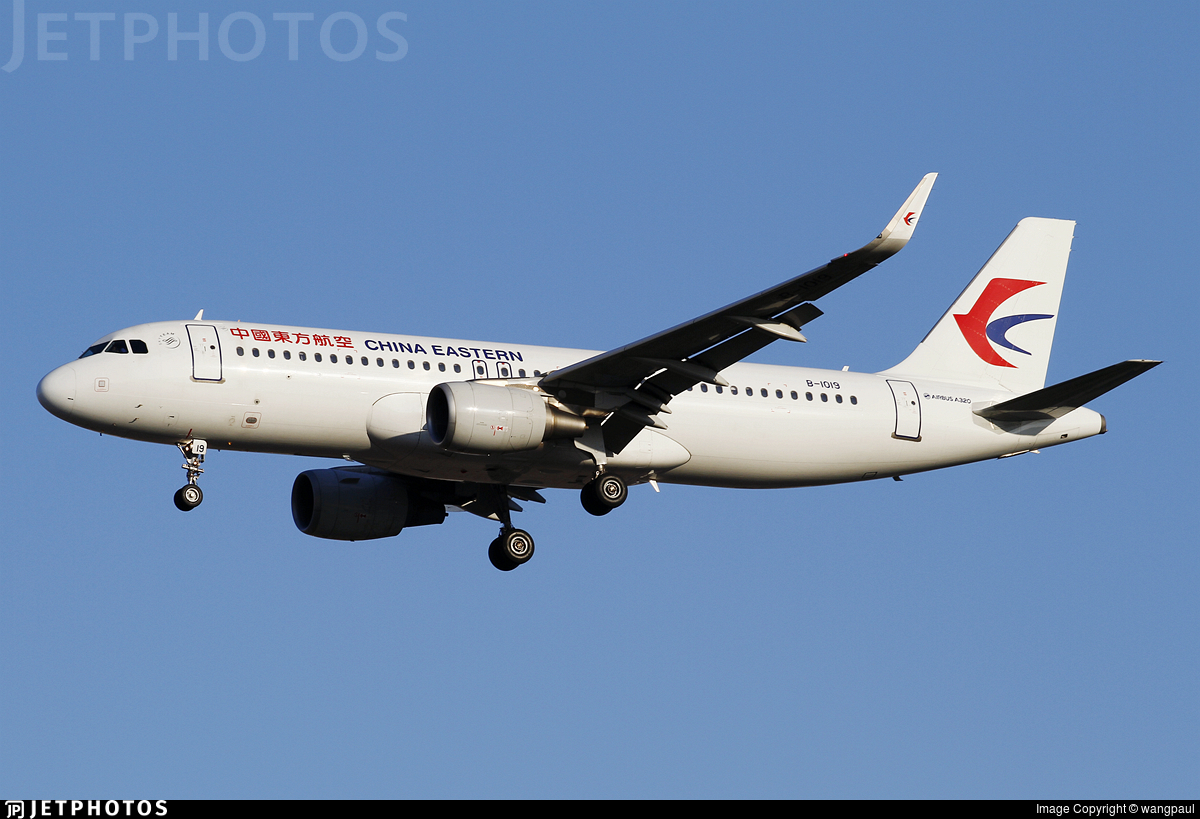 B-1019 - Airbus A320-214 - China Eastern Airlines