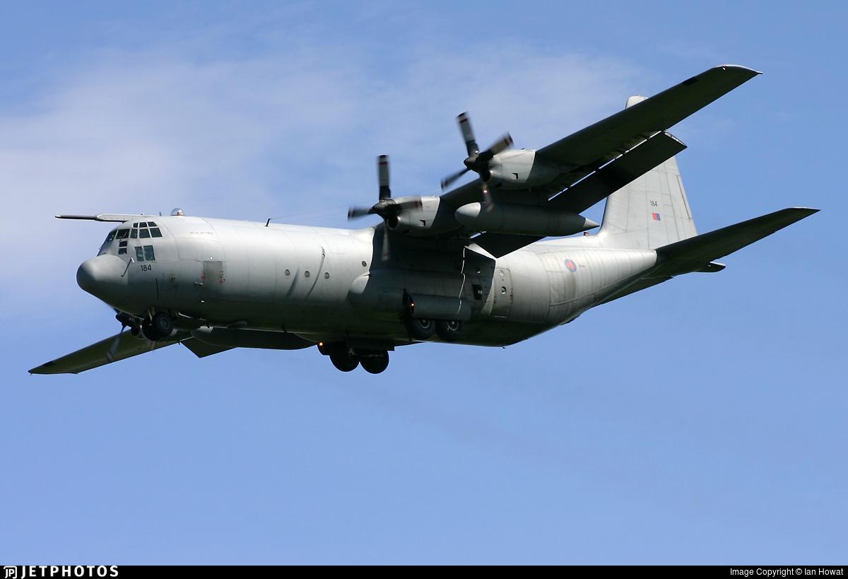 XV184 - Lockheed Hercules C.3 - United Kingdom - Royal Air Force (RAF)