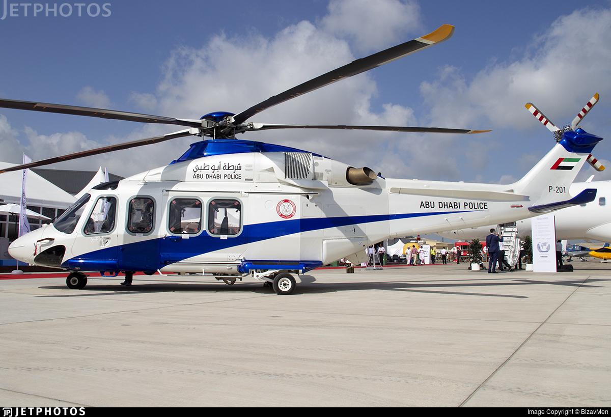 P-201 - Agusta-Westland AW-139 - United Arab Emirates - Abu Dhabi Police