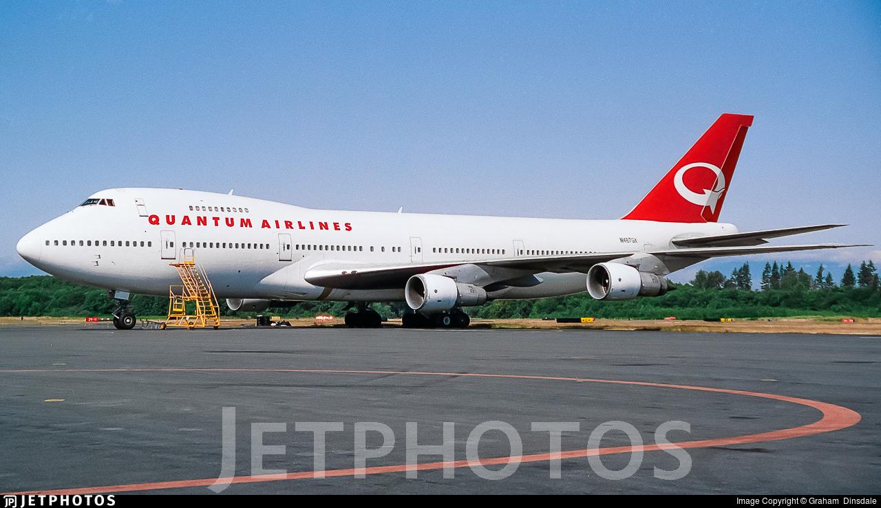 N487GX - Boeing 747-230B - Quantum Airlines
