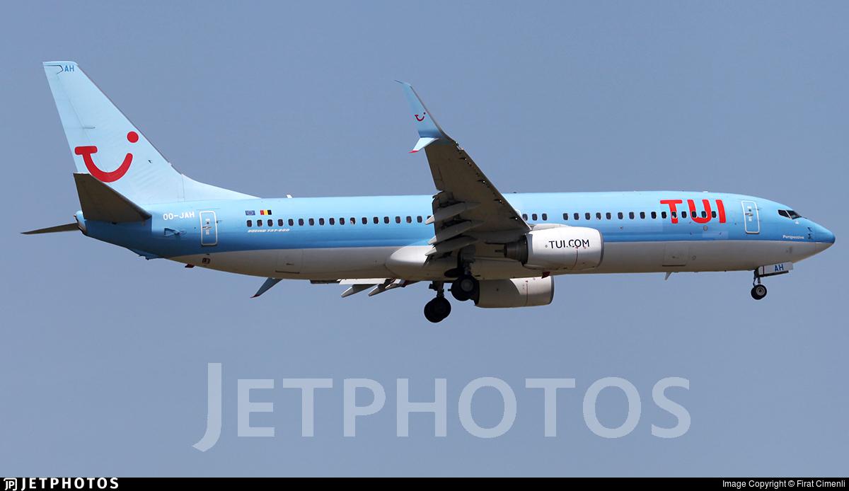 OO-JAH - Boeing 737-8K5 - TUI