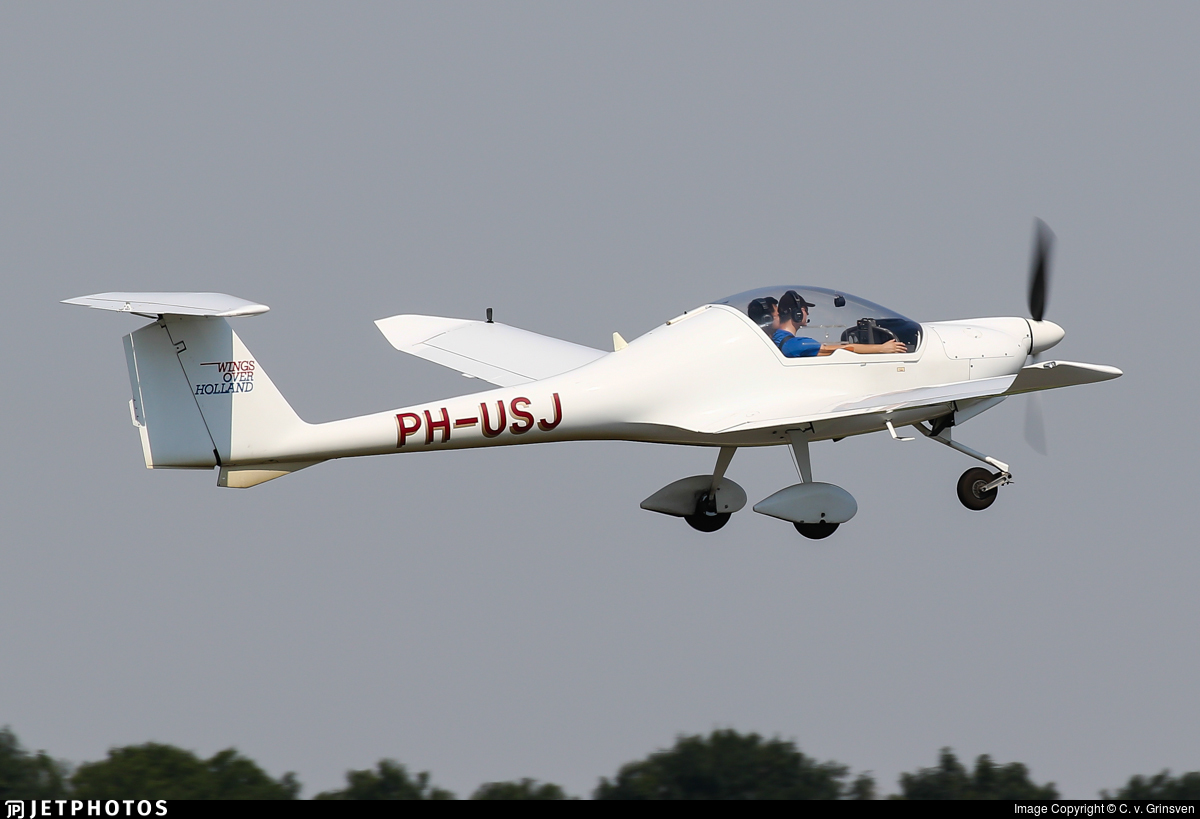 PH-USJ - HOAC DV-20-100 Katana - Wings over Holland