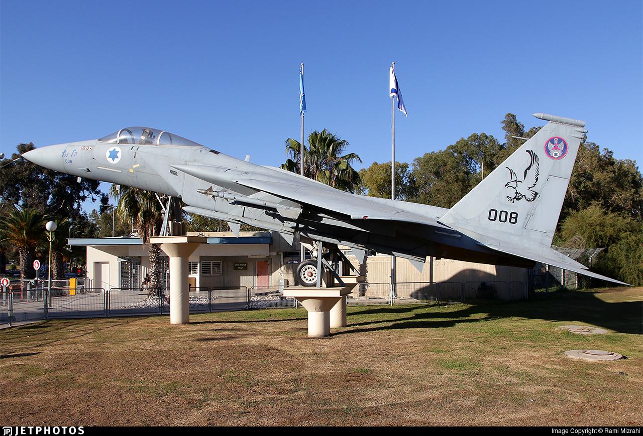 008 - McDonnell Douglas F-15A Eagle - Israel - Air Force