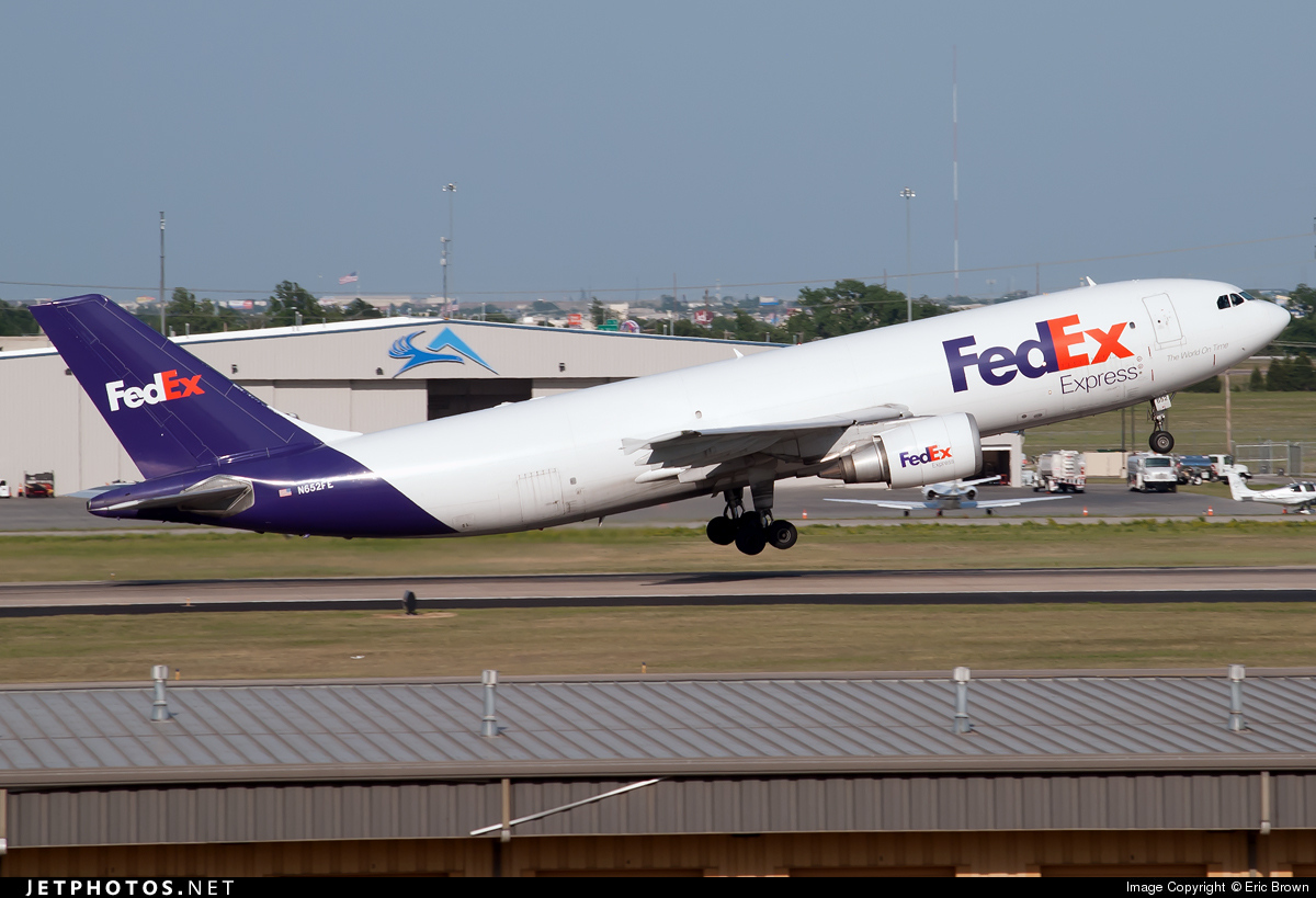 N652FE - Airbus A300F4-605R - FedEx