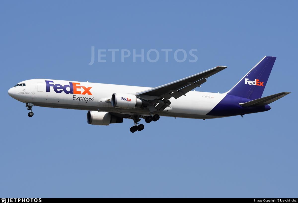 N108FE - Boeing 767-3S2F(ER) - FedEx