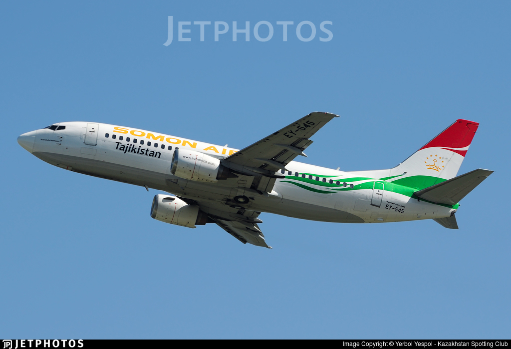 EY-545 - Boeing 737-3K2 - Somon Air