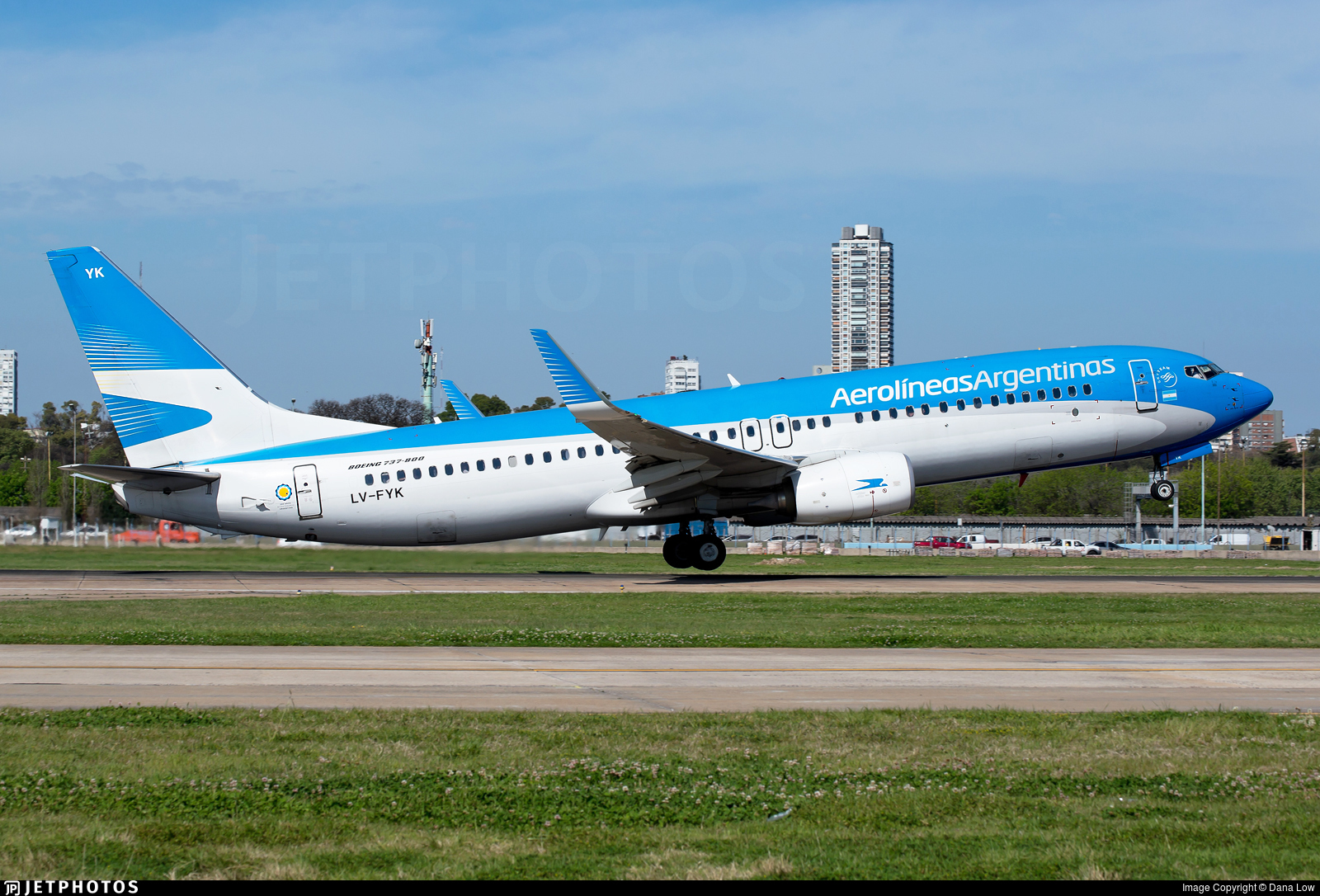 LV-FYK - Boeing 737-8MB - Aerolíneas Argentinas