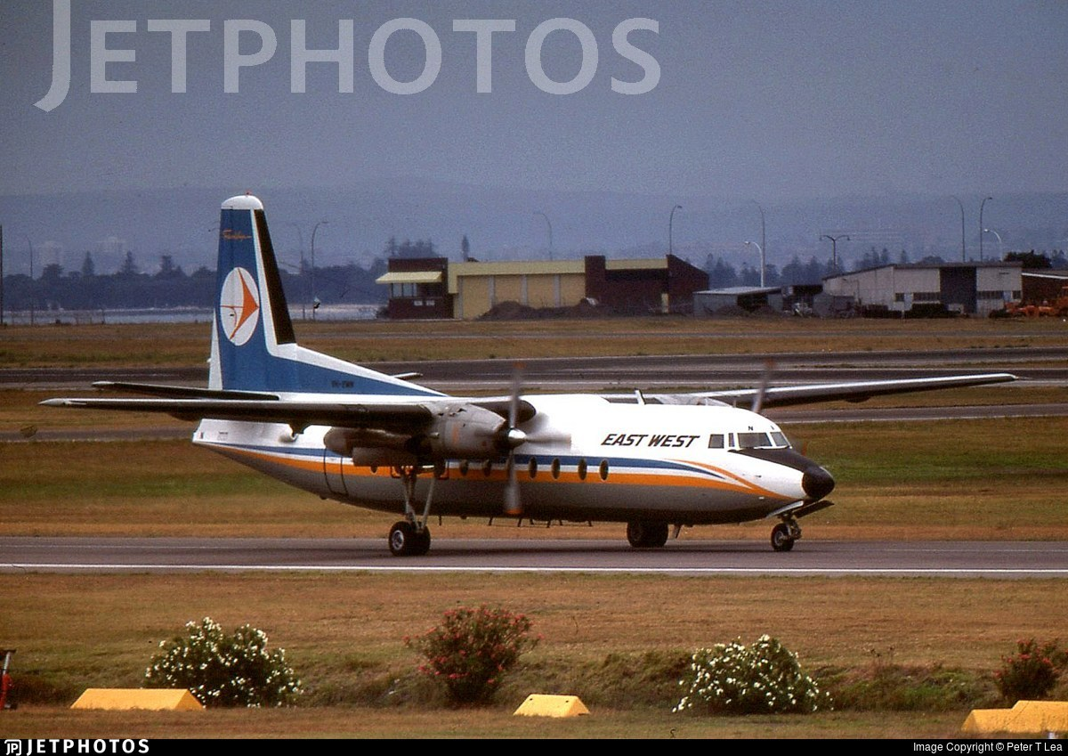 VH-EWN - Fokker F27-500 Friendship - East West Airlines