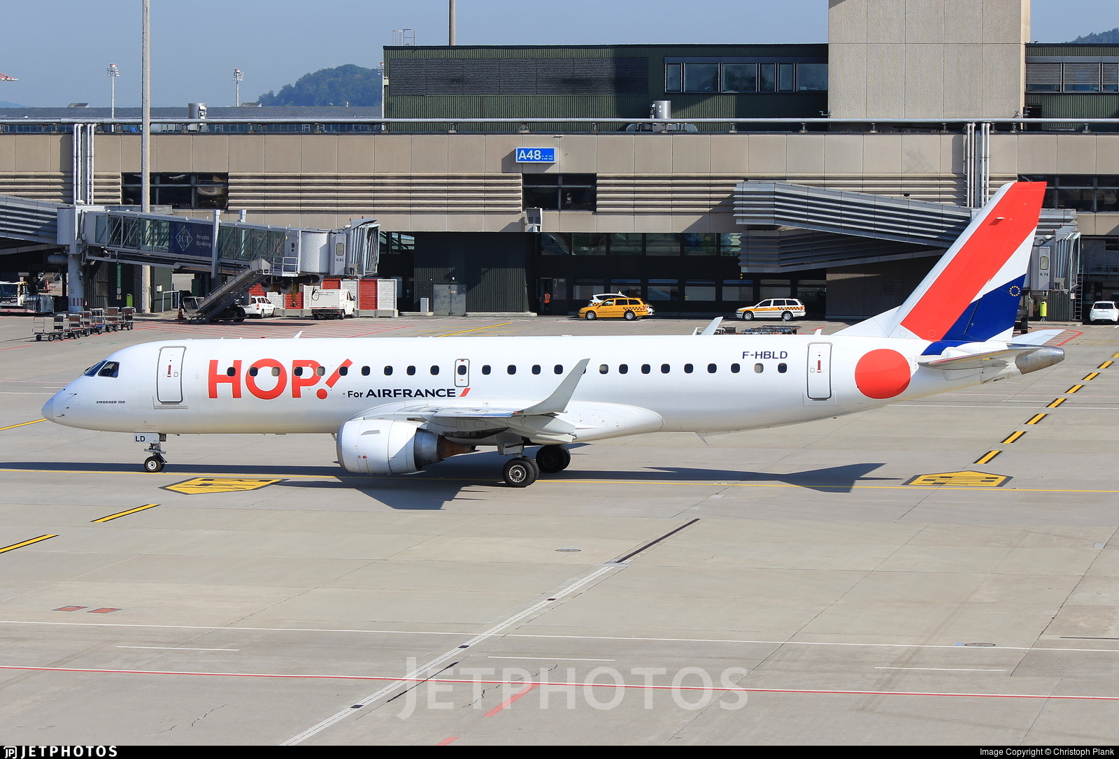 F-HBLD - Embraer 190-100LR - HOP! for Air France