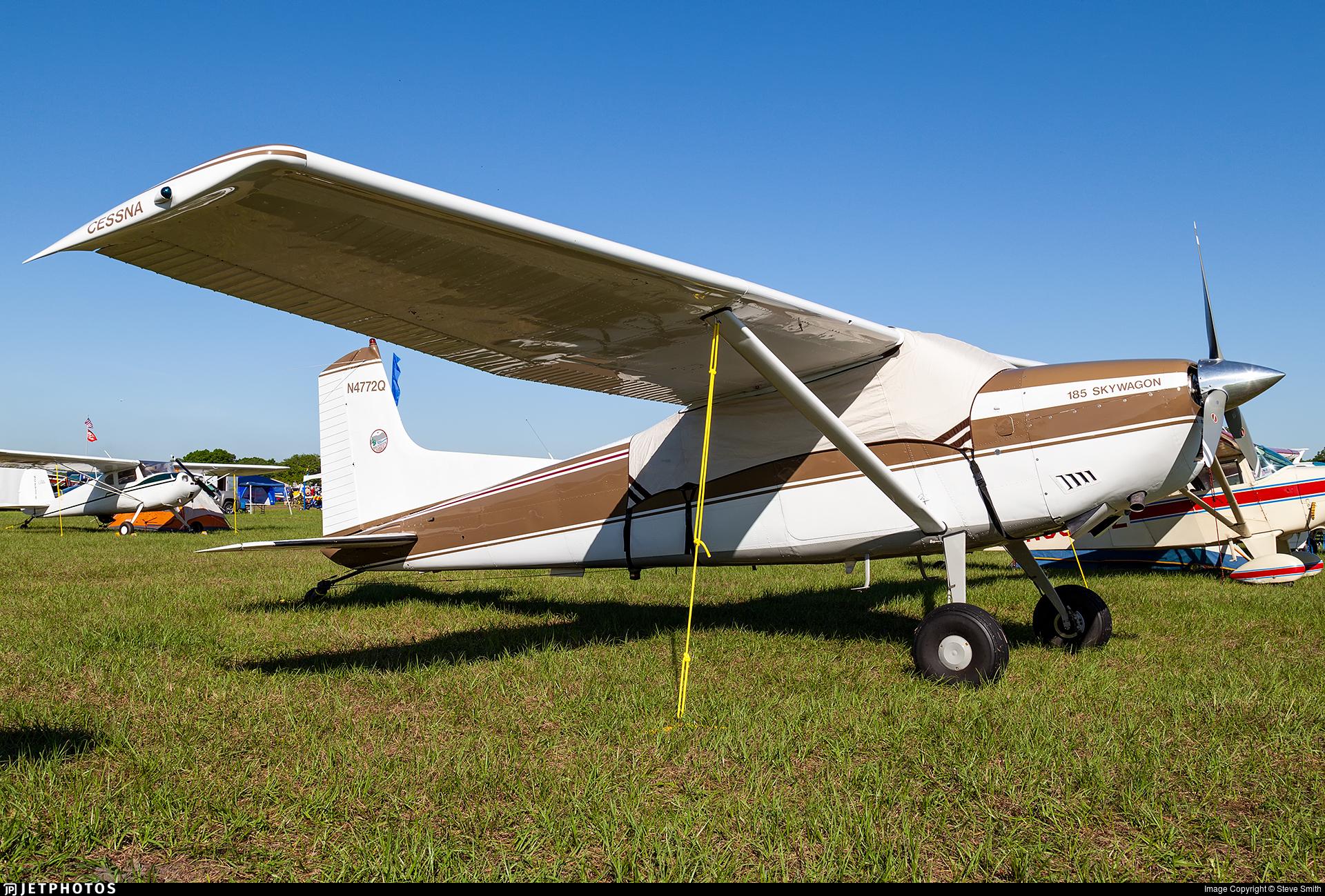 N4772Q - Cessna A185E Skywagon - Private