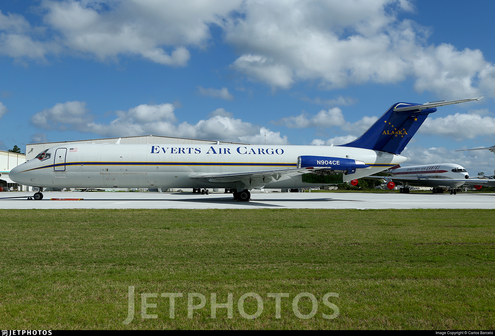 N904CE - McDonnell Douglas DC-9-32(F) - Everts Air Cargo
