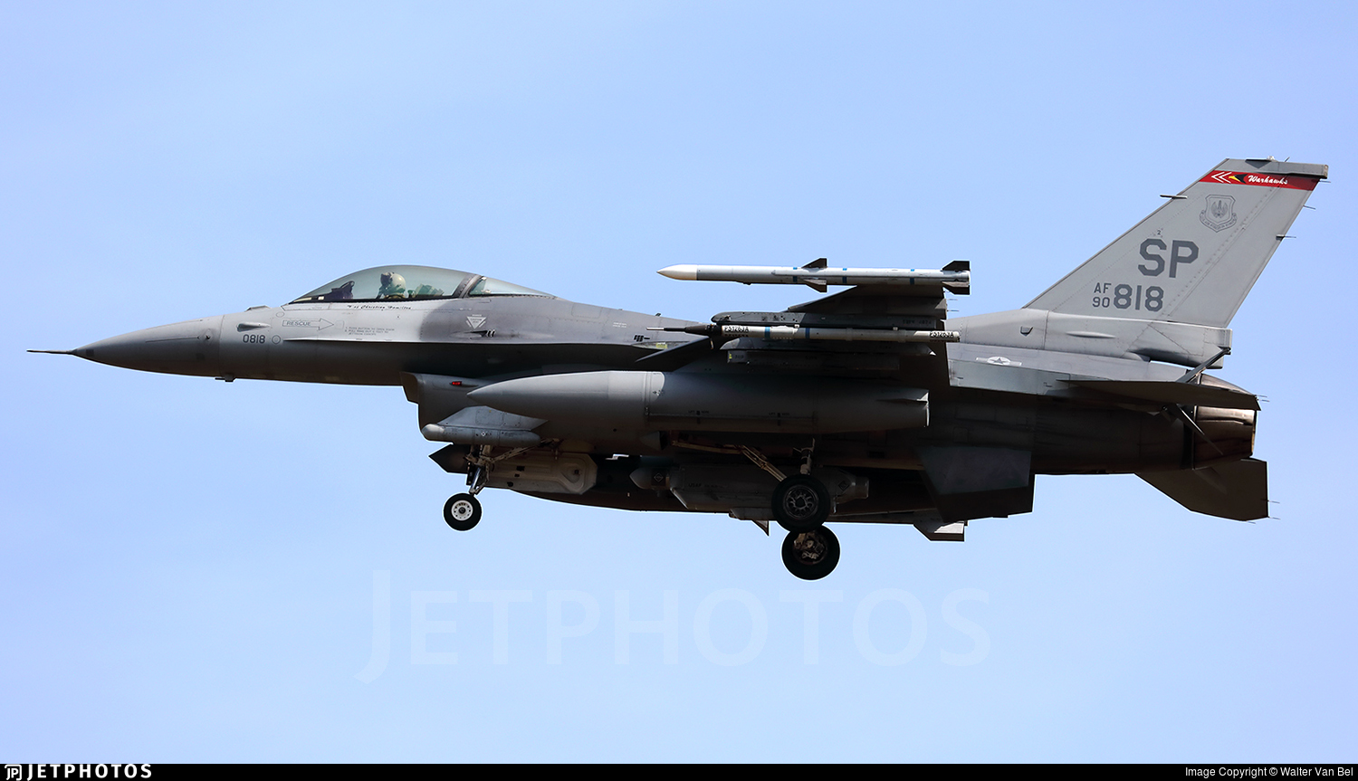 90-0818 - General Dynamics F-16C Fighting Falcon - United States - US Air Force (USAF)