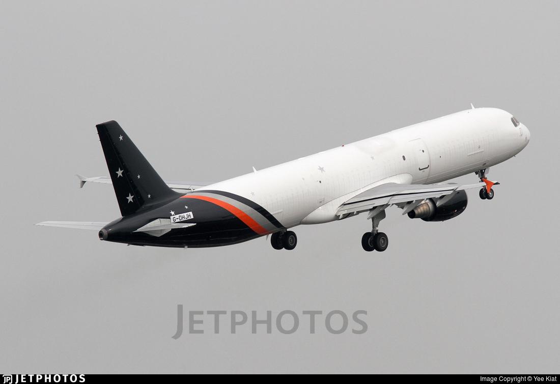 G-DHJH - Airbus A321-211P2F - Titan Airways