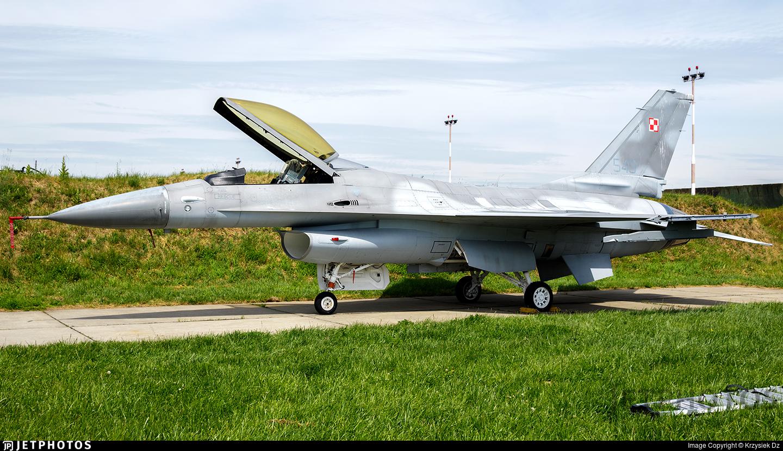 549 - General Dynamics F-16ADF Fighting Falcon - Poland - Air Force