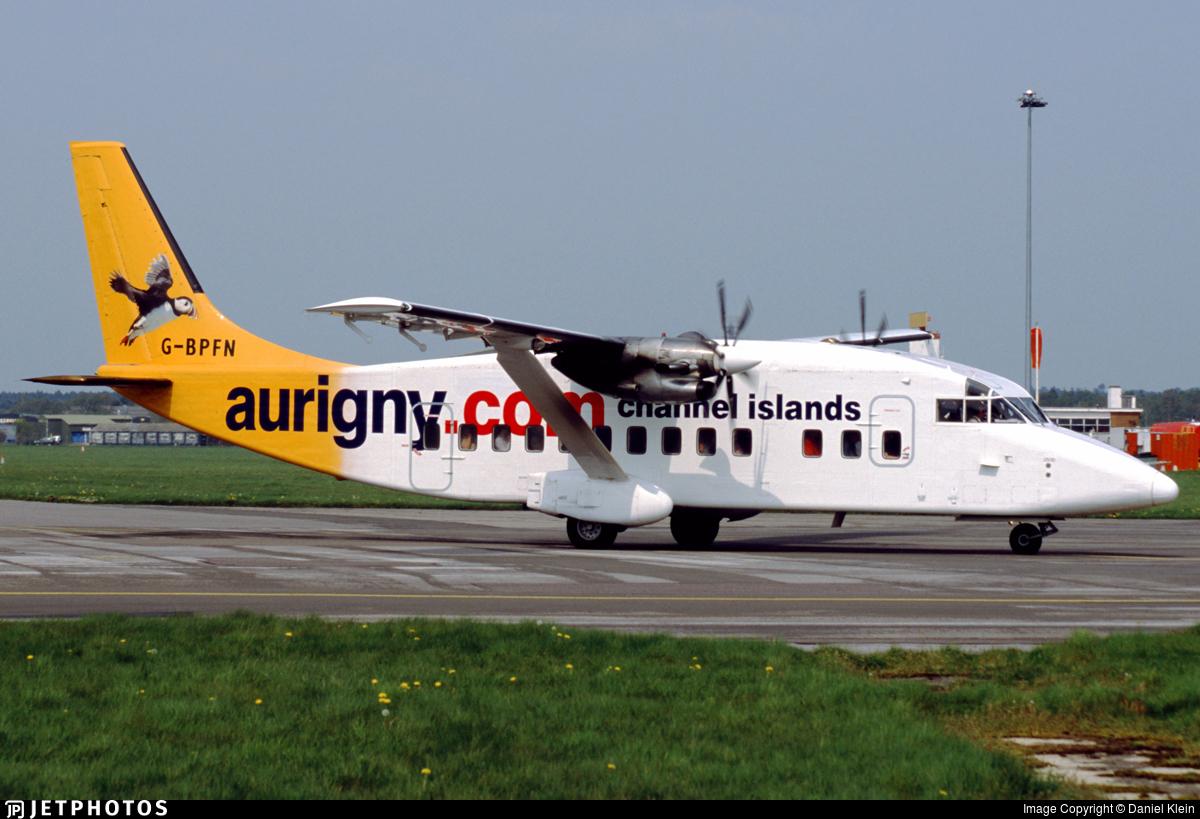 G-BPFN - Short 360-100 - Aurigny Air Services