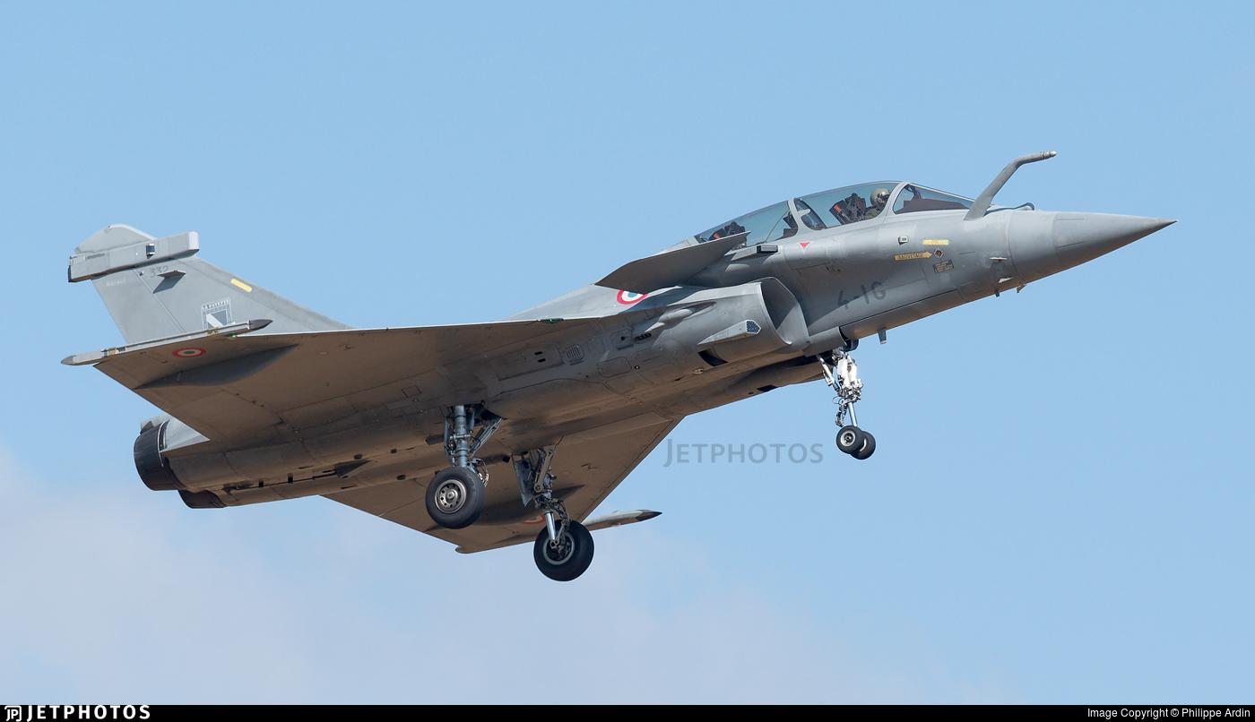 332 - Dassault Rafale B - France - Air Force