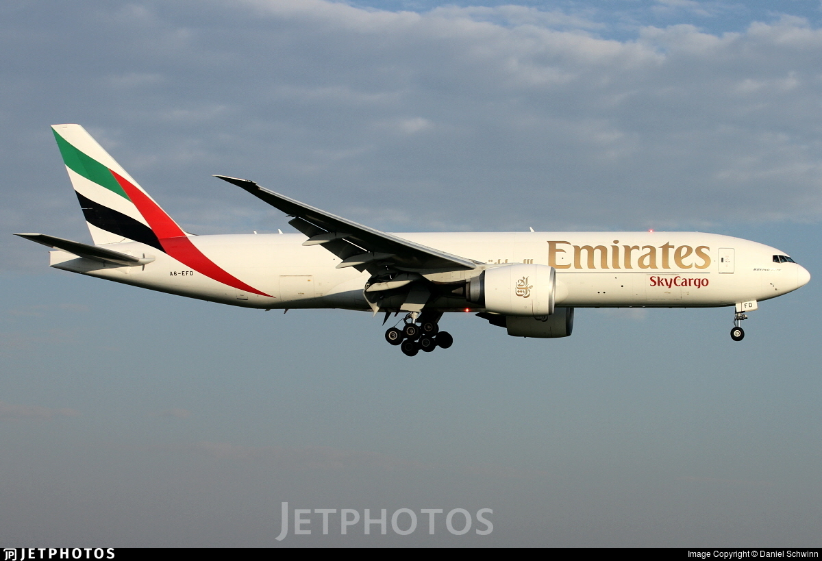 A6-EFD - Boeing 777-F1H - Emirates SkyCargo