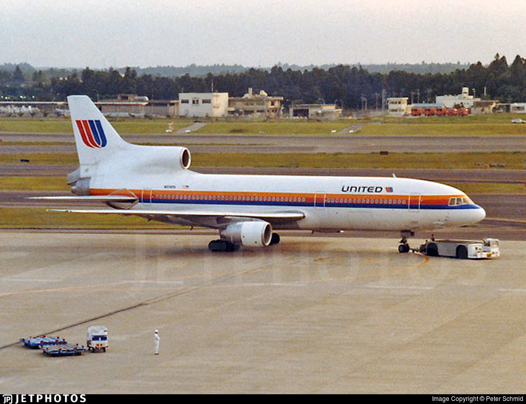 N514PA - Lockheed L-1011-500 Tristar - United Airlines