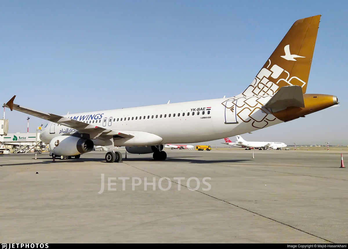 YK-BAE - Airbus A320-232 - Cham Wings Airlines