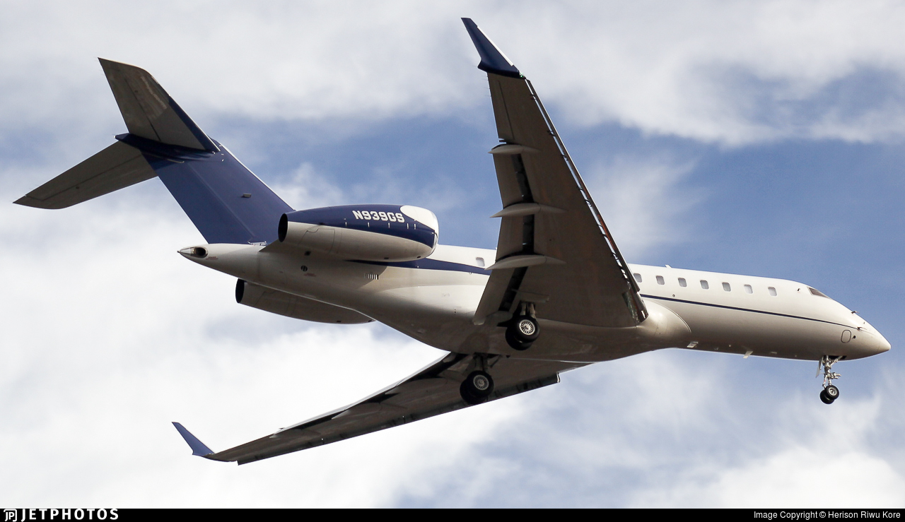 N939GS - Bombardier BD-700-1A11 Global 5000 - TAG Aviation Asia