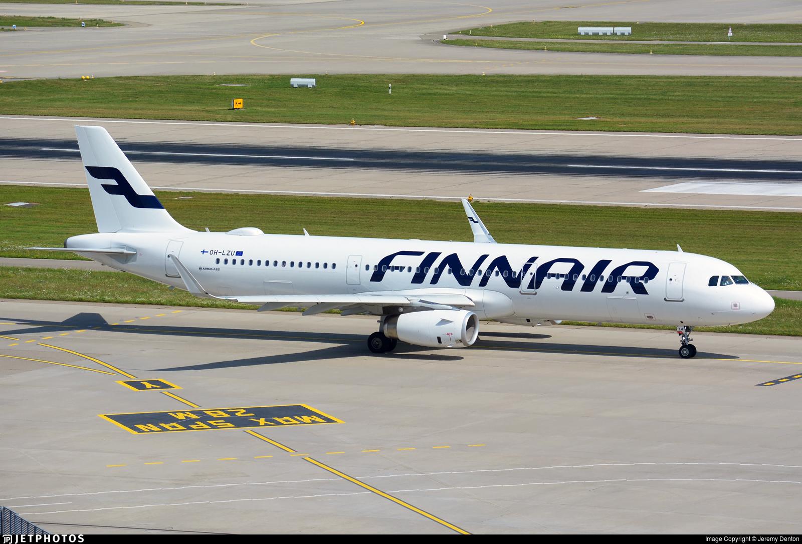 OH-LZU - Airbus A321-231 - Finnair