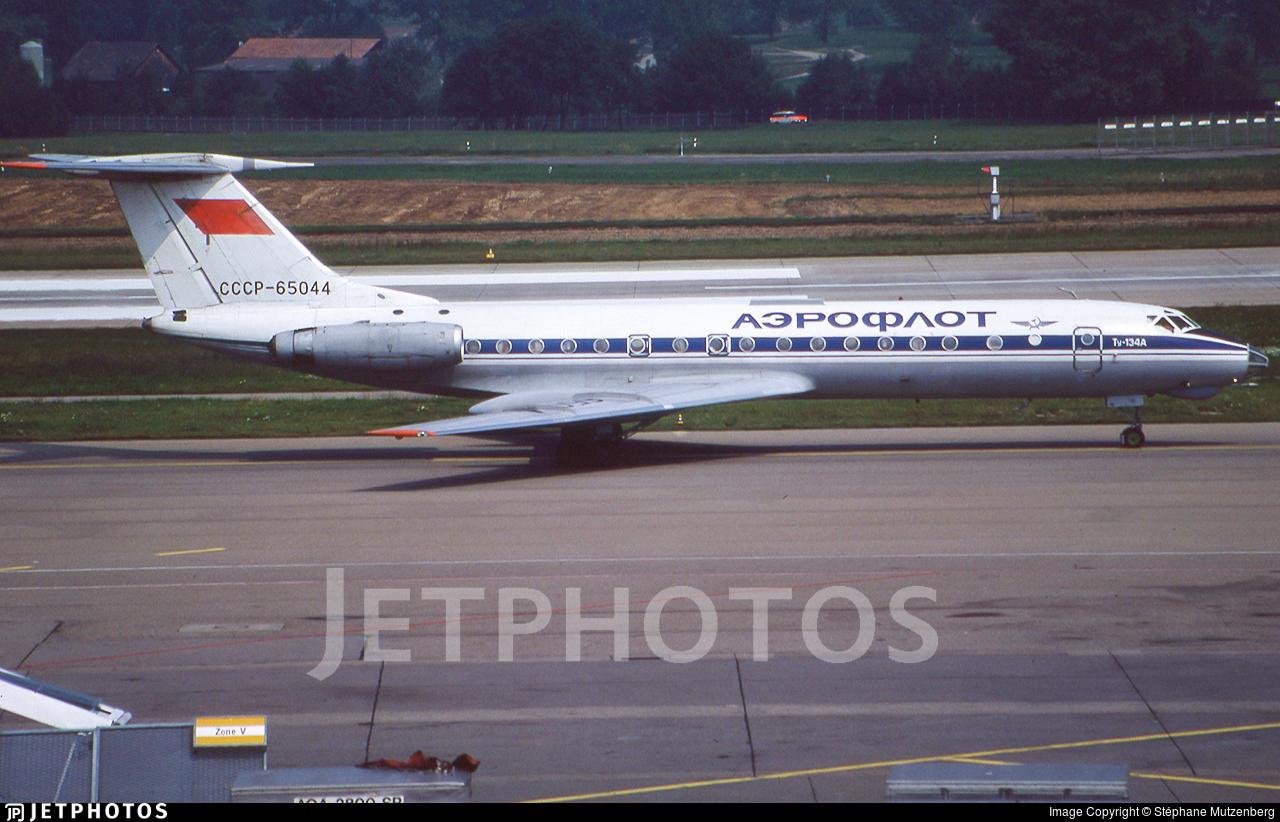 CCCP-65044 - Tupolev Tu-134A - Aeroflot